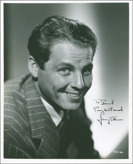 JAMES JIMMY ELLISON - AUTOGRAPHED INSCRIBED PHOTOGRAPH CIRCA 1939