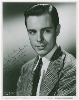 JAMES BLAKELEY - AUTOGRAPHED INSCRIBED PHOTOGRAPH CIRCA 1937