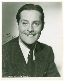 ALEXANDER D'ARCY - AUTOGRAPHED INSCRIBED PHOTOGRAPH CIRCA 1943