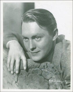 RICHARD CROMWELL - AUTOGRAPHED INSCRIBED PHOTOGRAPH CIRCA 1936