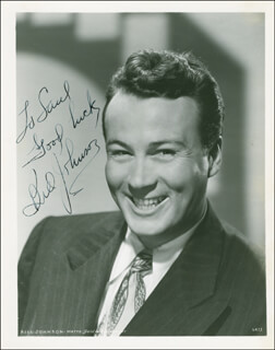 BILL (ACTOR) JOHNSON - AUTOGRAPHED INSCRIBED PHOTOGRAPH
