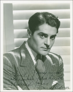 FRANCIS LEDERER - AUTOGRAPHED INSCRIBED PHOTOGRAPH CIRCA 1938