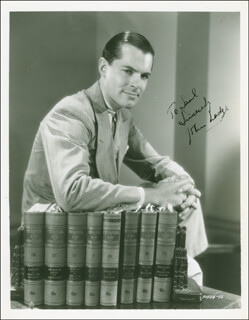 GOVERNOR JOHN D. LODGE - AUTOGRAPHED INSCRIBED PHOTOGRAPH CIRCA 1935