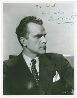 ESMOND KNIGHT - AUTOGRAPHED INSCRIBED PHOTOGRAPH CIRCA 1953