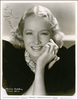 MIRIAM HOPKINS - AUTOGRAPHED INSCRIBED PHOTOGRAPH CIRCA 1936
