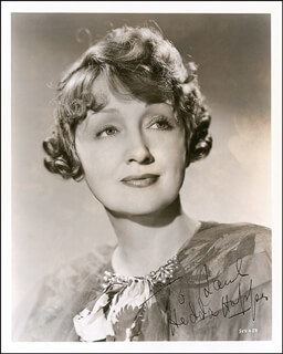 HEDDA HOPPER - AUTOGRAPHED INSCRIBED PHOTOGRAPH CIRCA 1936
