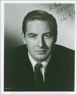 DON TAYLOR - AUTOGRAPHED INSCRIBED PHOTOGRAPH CIRCA 1954