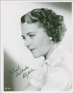 RUBY KEELER - AUTOGRAPHED INSCRIBED PHOTOGRAPH CIRCA 1950