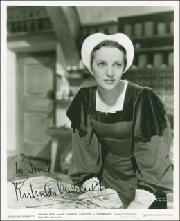 GERTRUDE LAWRENCE - AUTOGRAPHED INSCRIBED PHOTOGRAPH CIRCA 1937