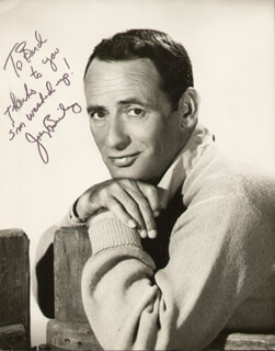 JOEY BISHOP - AUTOGRAPHED INSCRIBED PHOTOGRAPH