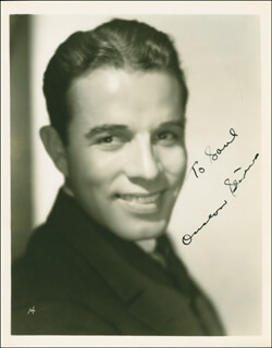 ONSLOW STEVENS - AUTOGRAPHED INSCRIBED PHOTOGRAPH CIRCA 1936