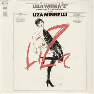 LIZA MINNELLI - RECORD ALBUM COVER SIGNED