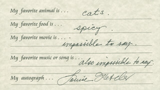 LOUISE FLETCHER - QUESTIONNAIRE SIGNED