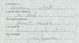 TOM SNEVA - QUESTIONNAIRE SIGNED