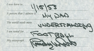 RANDY WHITE - QUESTIONNAIRE SIGNED