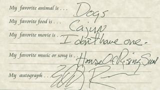 EDDY RAVEN - QUESTIONNAIRE SIGNED