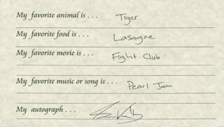 SAM KELLY - QUESTIONNAIRE SIGNED