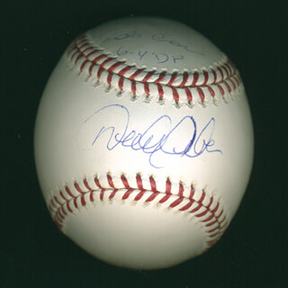 DEREK JETER - AUTOGRAPHED SIGNED BASEBALL CO-SIGNED BY: ROBINSON CANO