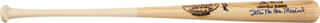 STAN MUSIAL - BASEBALL BAT SIGNED