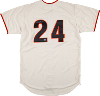 WILLIE SAY HEY KID MAYS - JERSEY SIGNED
