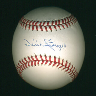 WILLIE STARGELL - AUTOGRAPHED SIGNED BASEBALL