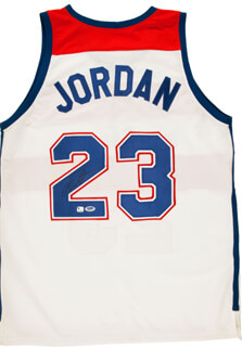 MICHAEL AIR JORDAN - JERSEY SIGNED
