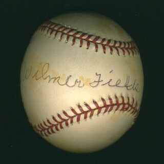Autographs: WILMER FIELDS - BASEBALL SIGNED