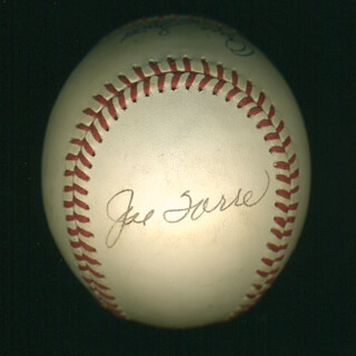 JOE TORRE - AUTOGRAPHED SIGNED BASEBALL CO-SIGNED BY: OZZIE THE WIZARD OF OZ SMITH