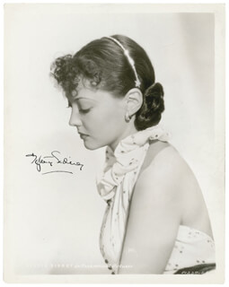 SYLVIA SIDNEY - AUTOGRAPHED SIGNED PHOTOGRAPH CIRCA 1936