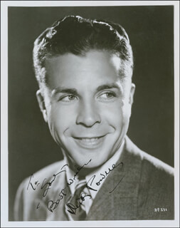 DICK POWELL - AUTOGRAPHED INSCRIBED PHOTOGRAPH CIRCA 1936