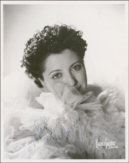 HELEN MORGAN - AUTOGRAPHED INSCRIBED PHOTOGRAPH CIRCA 1937