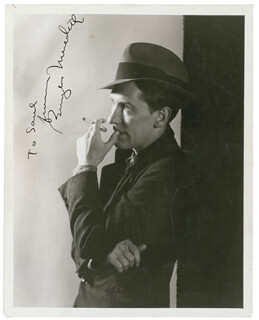 BURGESS MEREDITH - AUTOGRAPHED INSCRIBED PHOTOGRAPH CIRCA 1936