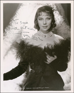 TILLY LOSCH - AUTOGRAPHED INSCRIBED PHOTOGRAPH CIRCA 1938