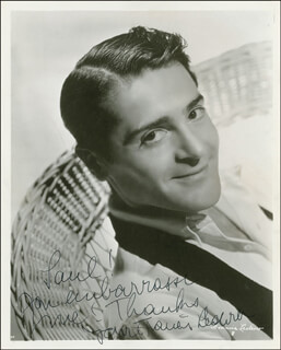 FRANCIS LEDERER - AUTOGRAPHED INSCRIBED PHOTOGRAPH CIRCA 1936