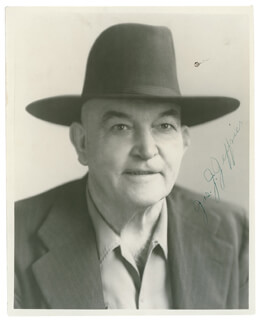 JAMES J. JEFFRIES - AUTOGRAPHED SIGNED PHOTOGRAPH  - HFSID 289838