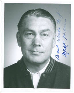 MEL HEIN - AUTOGRAPHED INSCRIBED PHOTOGRAPH