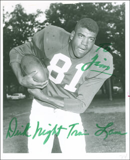 RICHARD NIGHT TRAIN LANE - AUTOGRAPHED INSCRIBED PHOTOGRAPH