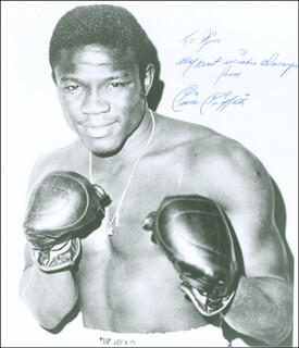 EMILE GRIFFITH - AUTOGRAPHED INSCRIBED PHOTOGRAPH CIRCA 1966