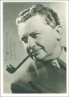 JEAN HERSHOLT - AUTOGRAPHED INSCRIBED PHOTOGRAPH