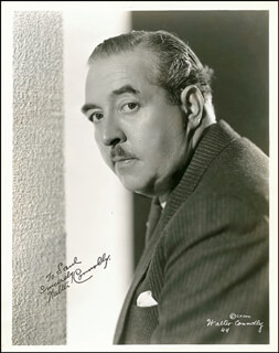 WALTER CONNOLLY - AUTOGRAPHED INSCRIBED PHOTOGRAPH CIRCA 1935