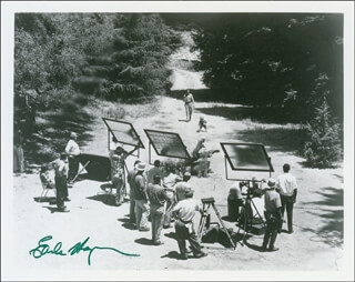 EARLE HAGEN - AUTOGRAPHED SIGNED PHOTOGRAPH
