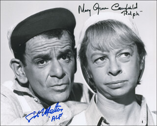 GREEN ACRES TV CAST - AUTOGRAPHED SIGNED PHOTOGRAPH CO-SIGNED BY: SID MELTON, MARY GRACE CANFIELD