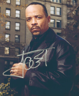 Autographs: ICE-T - PHOTOGRAPH SIGNED