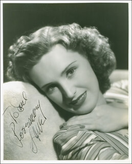 ROSEMARY LANE - AUTOGRAPHED INSCRIBED PHOTOGRAPH CIRCA 1938