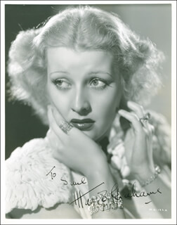MARGOT GRAHAME - AUTOGRAPHED INSCRIBED PHOTOGRAPH CIRCA 1936