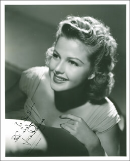 JEAN ROGERS - AUTOGRAPHED INSCRIBED PHOTOGRAPH CIRCA 1942
