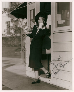 NORMA SHEARER - AUTOGRAPHED INSCRIBED PHOTOGRAPH CIRCA 1941