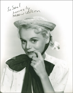 MARIE WILSON - AUTOGRAPHED INSCRIBED PHOTOGRAPH CIRCA 1939