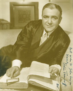 AKIM TAMIROFF - AUTOGRAPHED INSCRIBED PHOTOGRAPH