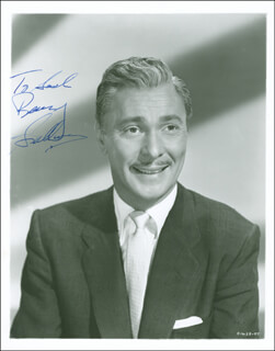 BARRY SULLIVAN - AUTOGRAPHED INSCRIBED PHOTOGRAPH CIRCA 1954